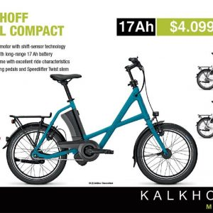 2016 - KALKHOFF SAHEL 9 (17AH)