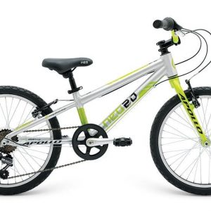 2018 Neo 20 6 Gear Boys Brushed Alloy/Black/Lime